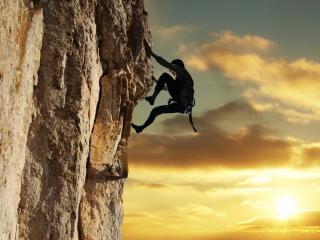 Free-solo-climber