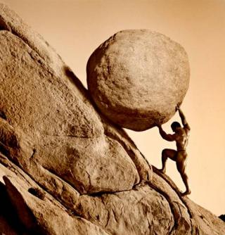 Pushing-the-world-uphill